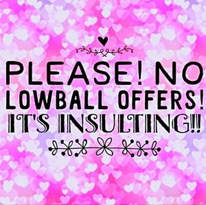 🍭 Low Ball Offers NOT Welcome!
